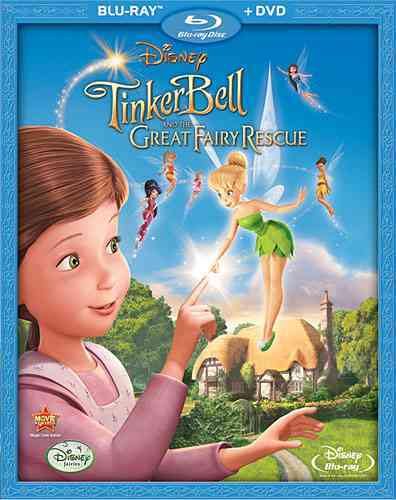 TINKER BELL AND THE GREAT FAIRY RESCU BY WHITMAN,MAE (Blu-Ray)