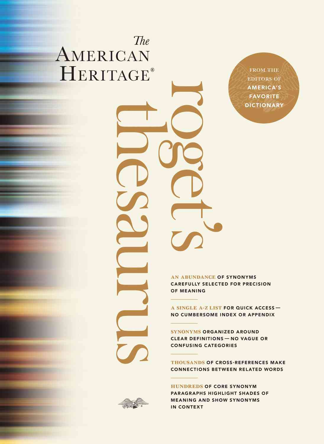 The American Heritage Roget's Thesaurus By Editors of the American Heritage Dictionaries